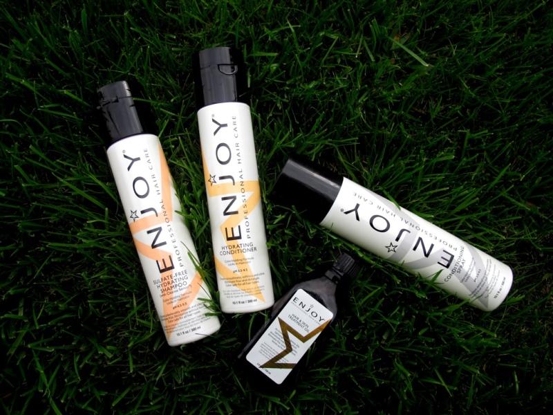 ENJOY HAIR CARE // Hourglass & Bloom