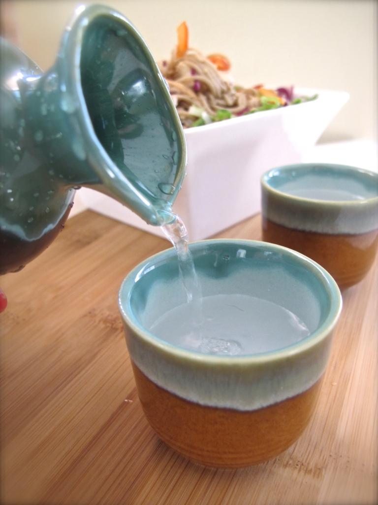 SESAME SOBA SALAD // hourglass and bloom blog