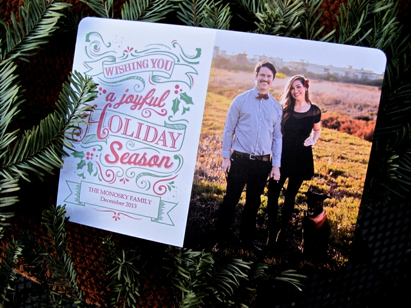 HOLIDAY CARD IDEAS // via hourglassandbloom.com